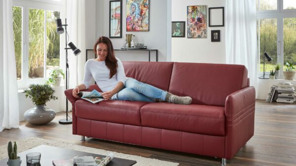 Comfortmaster Funktionssofa Messina – Schlafcouch